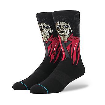 Stance Thriller Crew Socks in Black