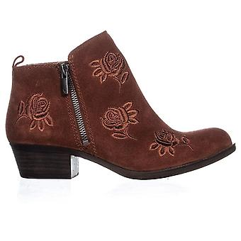 Lucky Brand Womens Basel5 Leather Closed Toe Ankle Fashion Boots