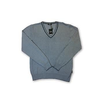 Strellson knitwear in blue and white