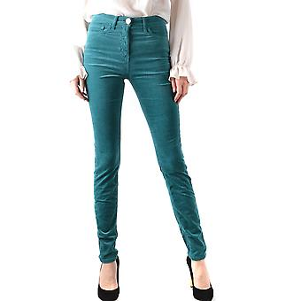 Elisabetta Franchi Ezbc050163 Women's Petrol Denim Jeans