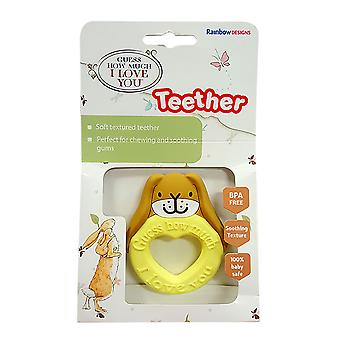 Guess How Much I Love You Guess How Much I Love You Teether