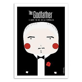 Kunst-poster-The Godfather-Ninasilla 50 x 70 cm