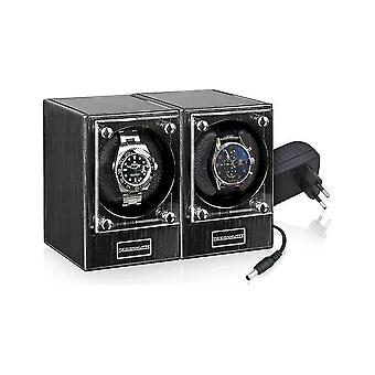 Design Hut - Watch Wincher Piccolo Set of 2 - Dark Ebony - 70005/126