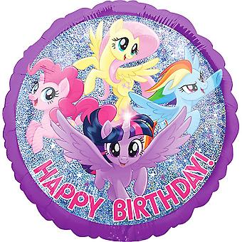 Anagram My Little Pony Happy Birthday! Round Foil Balloon