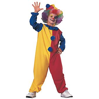 Clown Classic Circus Joker Birthday Party Book Week Funny Dress Up Boys Costume