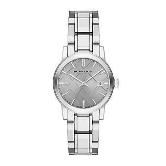 Burberry Bu9143 The City Silver Stainless Ladies Watch
