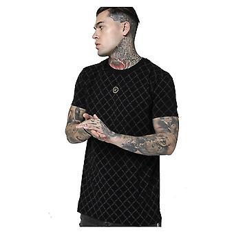 Sik Silk Reverse Collar T-shirt