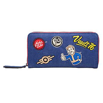Fallout 76 Purse Vault 76 Logo Patches Nuka Cola nouveau Zip bleu officiel autour