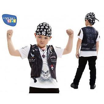 Yiija Child shirt Hell boy (Babies and Children , Costumes)