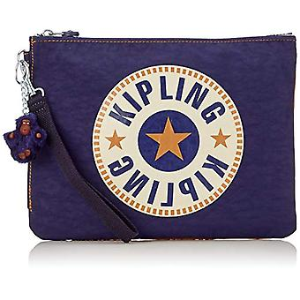 Kipling Iaka L Wristlet - Blue Women's Wallet (Active Blue Bl)