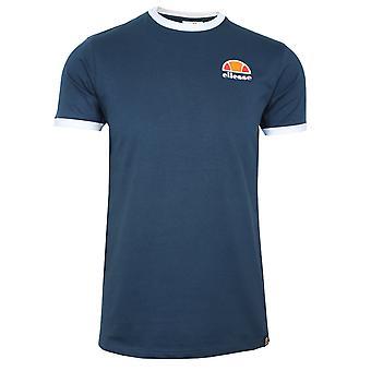 Ellesse kubistische mannen ' s Marine Ringer t-shirt