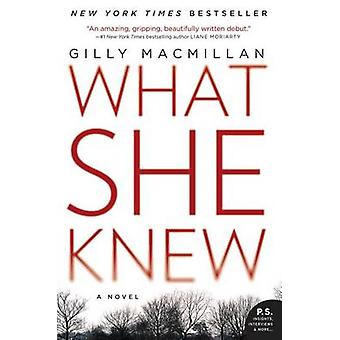 What She Knew by Gilly MacMillan - 9780062413864 Book