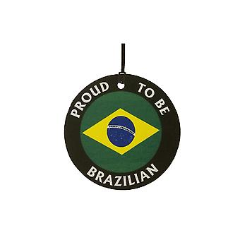 Proud To Be Brazilian Car Air Freshener