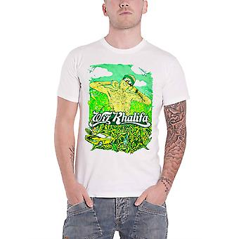 Wiz Khalifa T Shirt Waken Baken new Official Mens White