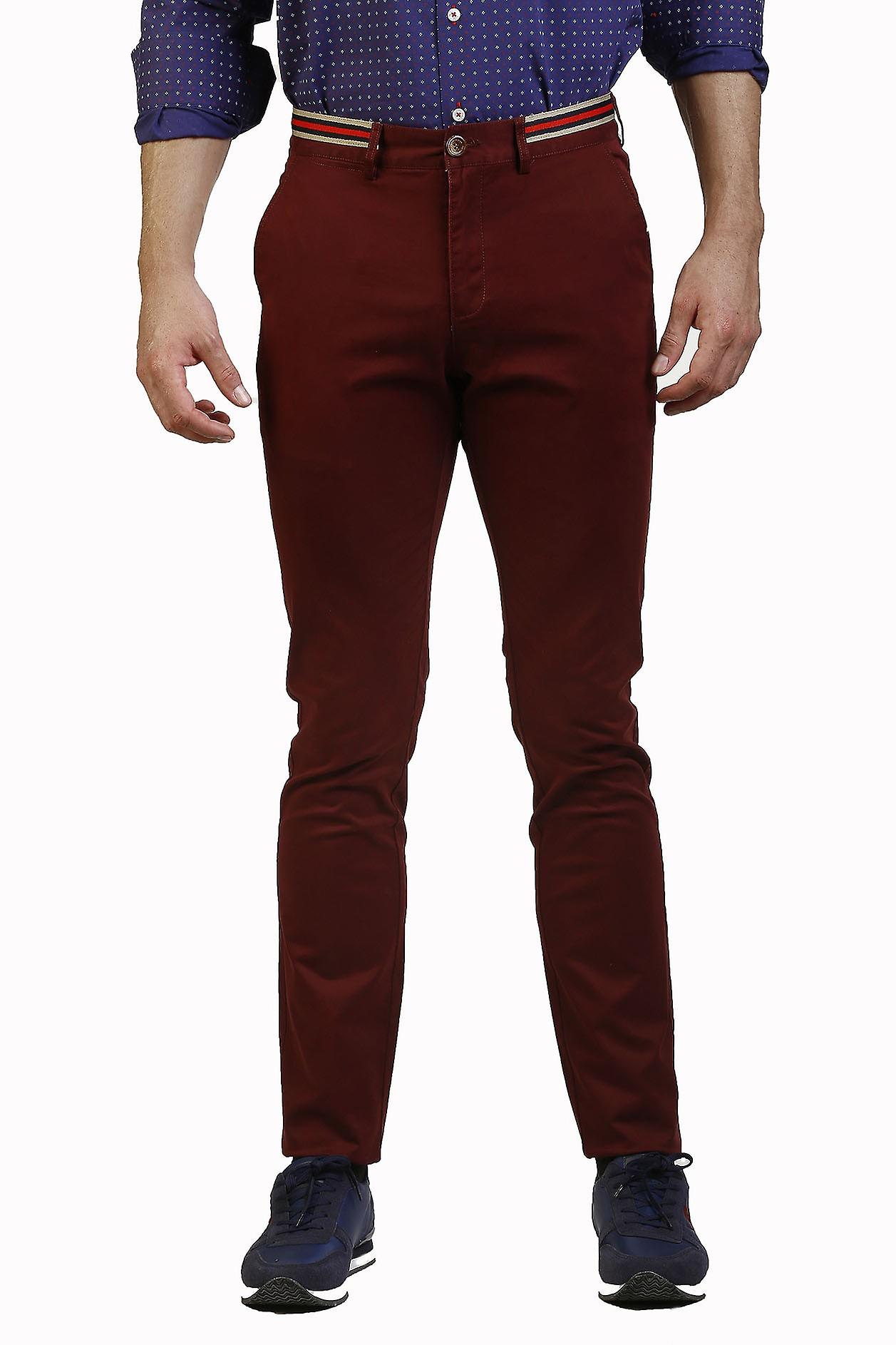 Pantalon Hombre The Time Of Bocha JI1PPOLO-118-Burdeos 713