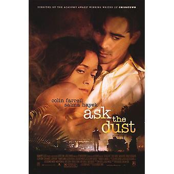 Chiedi alla polvere (doppio lato regolare) Poster originale del cinema