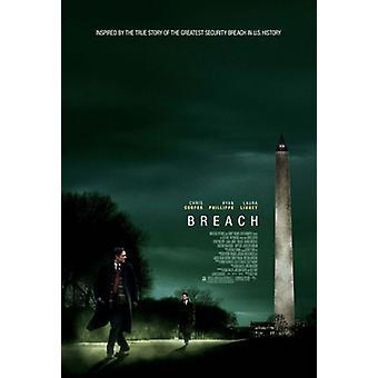 Breach (Double Sided Regular) Original Kino Poster