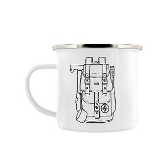 Grindstore Rucksack Enamel Mug