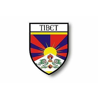 Sticker Sticker Motorcycle Car Blason City Flag Tibetain