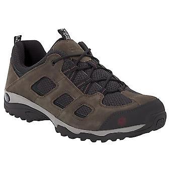 جاك وولفسكين منس فوجو ارتفاع 2 أحذية المشي الجلدية المنخفضة