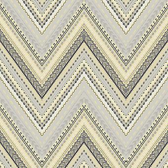 Pandora Chevron Stripe Wallpaper GranDeco