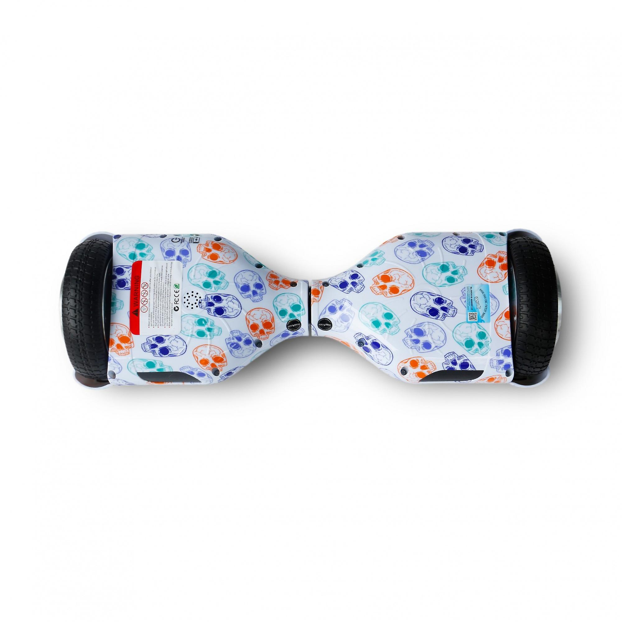 Hoverboard Skateflash K6 piraat Bluetooth + transport tas