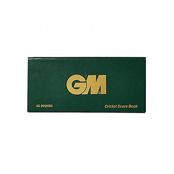 Gunn & Moore GM Accessories 60 Innings Round Scorebook Game Analysis