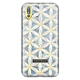 Marvêlle iPhone X/Xs Magnetic Case Golden Blossom