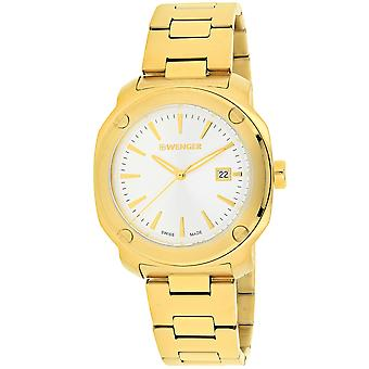 Wenger Men's Edge Index Silver Dial Watch - 01.1141.116