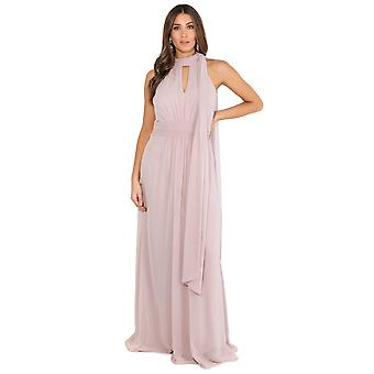 KRISP Women Halter High Neck Cocktail Maxi Dress Formal Long Ball Gown Evening Wedding