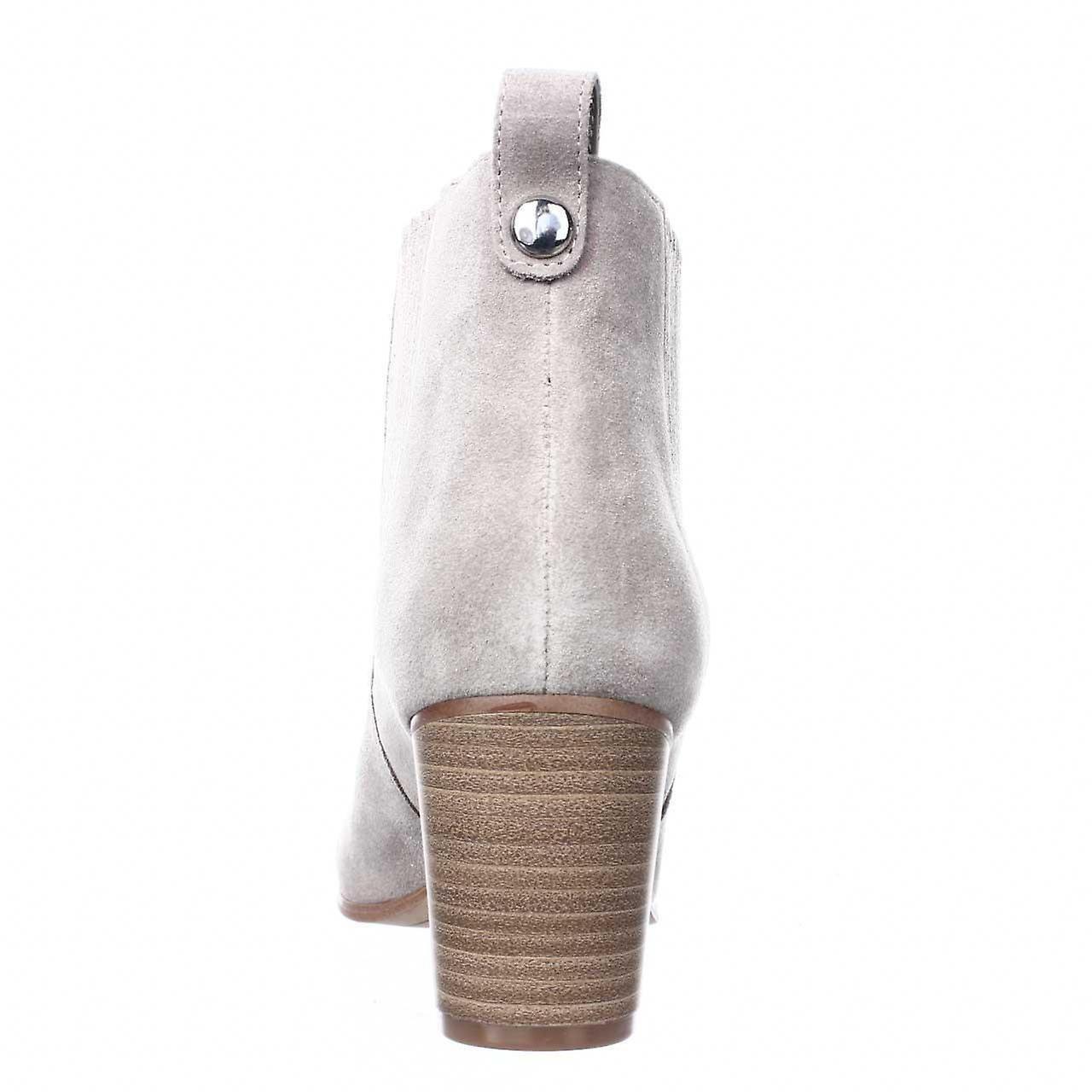 Inc International Concepts Womens Fainn Leather Closed Toe Ankle Chelsea Boots