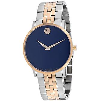 Movado Men's Museum Blue Dial Watch - 607267
