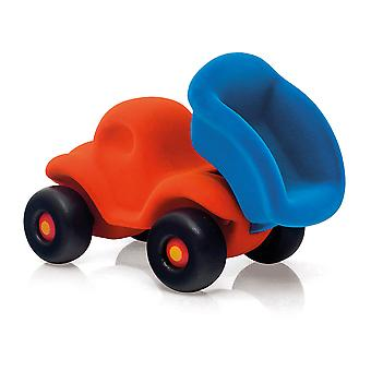 Rubbabu The Dump Truck Large (Orange) Vehicle Playset Push Along Toy Kid Child