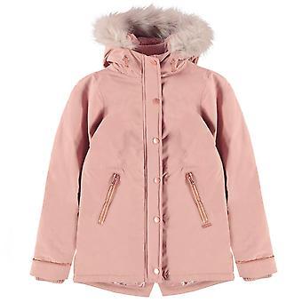 Firetrap Girls Luxury Parka Junior Long Sleeve Bubble Jacket Long Sleeve