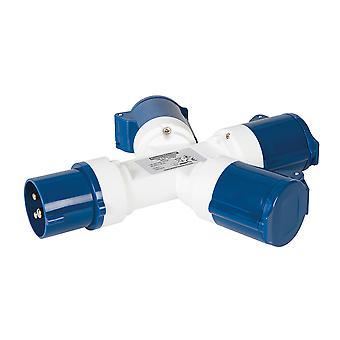 16A 3-bande splitter-230V 3 pin