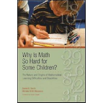 Waarom is math zo hard voor sommige kinderen door Daniel B berch