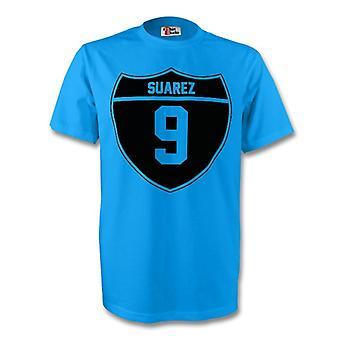 Luis Suarez Uruguay Crest Tee (cielo azul)