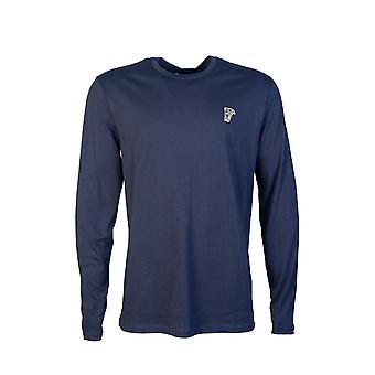 Versace T skjorte langermet V800491r Vj00180