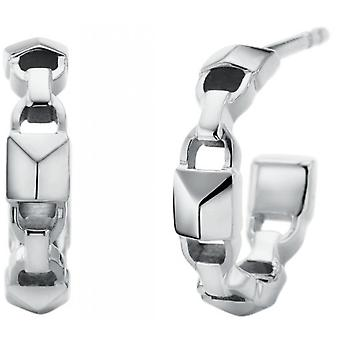 Michael Kors MKC1013AA040 kolczyki-MERCER LINK srebrny