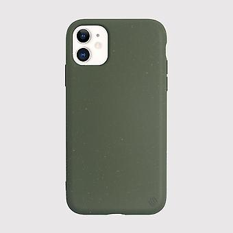 Eco Friendly iPhone 11 Case Eco Back Shell Cucumber Green