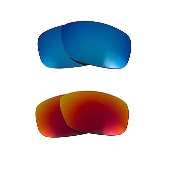 Polarized Replacement Lenses for Oakley Triggerman Sunglasses Anti-Scratch Anti-Glare UV400 by SeekOptics