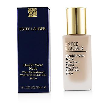 Estee Lauder dubbel slitage Nude vatten Fresh makeup SPF 30-# 1C1 cool Bone-30ml/1oz
