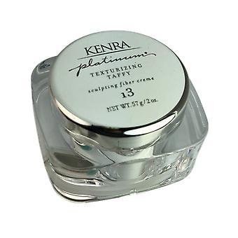 Kenra platinum hair texturizing taffy sculpting fiber creme #13 2 oz.