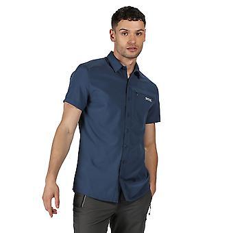 Regatta Mens Kioga II Polyester Vanlig Kortermet Skjorte