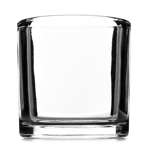 50cl thick glass candle container - box of 24