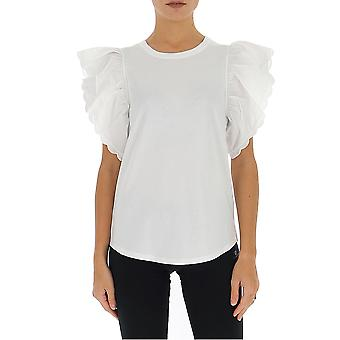 See By Chloé Chs20sjh43081109 Women's White Cotton T-shirt
