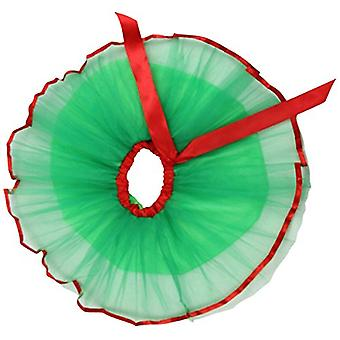 Jastore الطفل الفتيات الطبقات حزب الأخضر توتو تنورة الرقص الأميرة الباليه اللباس