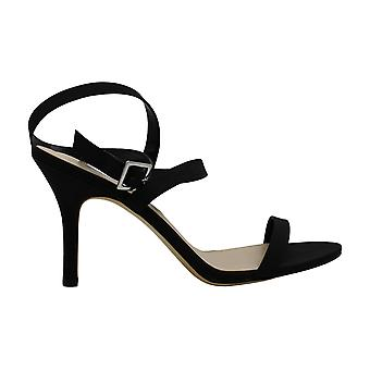 Nina Womens Vanna Open Toe Ankle Wrap Classic Pumps