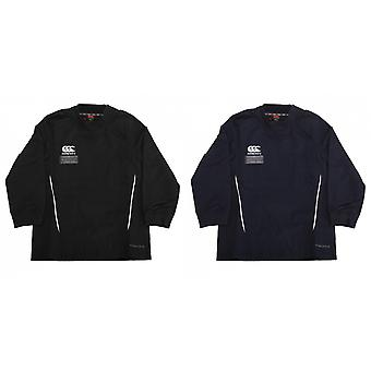 Canterbury Childrens/Kids Team Water Resistant Long Sleeve Rugby Contact Top
