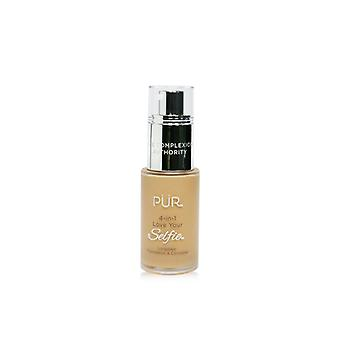 Pur (Purminerals) 4 In 1 Liebe Ihre Selfie Longwear Foundation & Concealer - #mp5 Mandel (erröten medium Skin with Pink Undertones) - 30ml/1oz